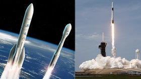 Úspěchy SpaceX? EU nechce být pozadu, do vlastních vesmírných raket vloží více peněz