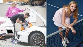 Tenisová hvězda Kvitová: Nastěhoval se k ní trenér v rozvodu!
