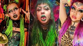 Děsivá proměna mladé dívky: Po zákrocích má nejen elfí uši a hadí jazyk!