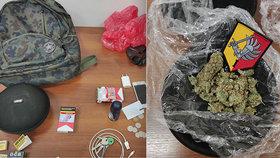 """Balil si jointa před policisty, u sebe měl 27 gramů marihuany. """"Bojím se o život,"""" tvrdil muž"""
