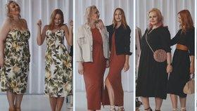 Souboj velikostí S vs. XL: Šaty pětkrát jinak, které lichotí boubelkám i štíhlým ženám