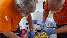 Batole na Mladoboleslavsku spadlo do bazénu: Záchranář Jirka popsal dramatický boj o život