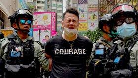 Posílení moci Číny vyvolalo v Hongkongu zlost. Lidé protestovali i přes zákaz