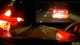 Řidič jak zběsilý ujížděl policistům z Moravské Třebové: V autě měl přitom ženu a malé dítě!