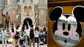 Měření teploty i povinné rozestupy: Disneyland v Tokiu otevřel brány po čtyřech měsících