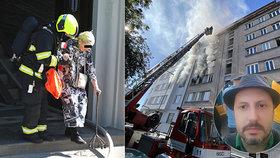 Ohlušující výbuch, roztříštěná okna, strach o mazlíčky: Svědci popsali chvíle hrůzy při požáru v Holešovicích