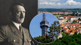 """Pýcha Prahy už dávno nemusela stát. """"Pryč s ní!"""" poručil Hitler na konto Petřínské rozhledny"""
