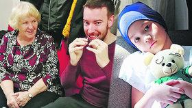 Zdenu (80) dojal umírající chlapeček (†3): Dala slib a našla 15 000 dárců kostní dřeně
