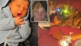 Kříženec pitbula roztrhal novorozeného chlapečka (†26 dní). Jeho matku obvinili ze zanedbání péče