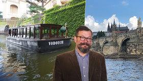 """Takhle vypadá Hrad z Vltavy! Pražské Benátky lákají na projížďku, koronavirová pauza je málem """"potopila"""""""