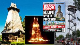 Nejstarší dřevěná rozhledna Česka by dnes oslavila 100. narozeniny: Hýlačka ukazuje krásu města Tábor