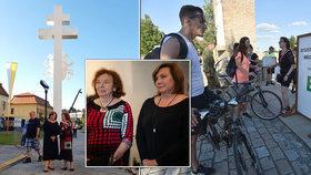 Klausová, Schillerová i Maláčová s mužem na Velehradě. A pocta 1. linii boje s virem