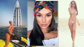 Krásnou letušku zatkli v Dubaji: Putovala do vězení kvůli dvěma jointům svého přítele!