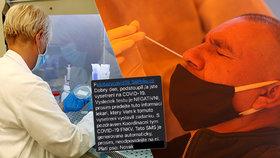 Koronavirus nemáte, napsala hygiena nakaženému ajťákovi. Kolikrát už se stala chyba?