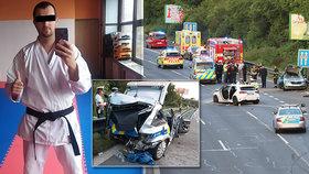 Opilá řidička narazila do policejního auta: Zemřel oblíbený příslušník Pavol (†31)!
