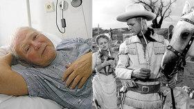 Limonádový Joe Karel Fiala slaví 95: Je na čase přestat žít, říká!