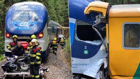 """Tragická srážka vlaků na Karlovarsku: """"Co jsem to udělal!"""" plakal prý strojvedoucí"""