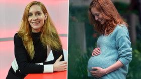 Krásná Hanka Vagnerová (37) překvapila: Ukázala se s těhotenským bříškem!