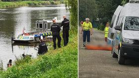 U Kostelce nad Labem plavalo v řece tělo: Policie nařídila soudní pitvu