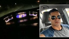 Mladý řidič závodil s kamarádem na silnici a boural: Svou smrt natočil na video