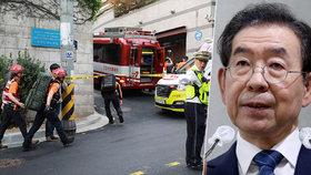 Starosta podle obvinění obtěžoval sekretářku. Dceru vyděsil vzkaz, našli ho mrtvého u Soulu