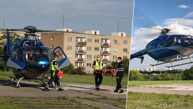 Na Rakovnicku se popálilo roční batole! Z nemocnice ho transportoval do Prahy vrtulník