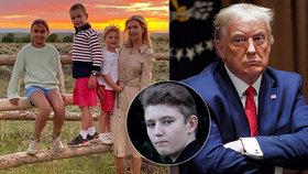 Trump tlačí na otevření škol. Vrátí se do lavic i jeho vnoučata a syn Barron (14)?