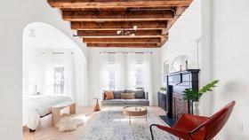 Razantní rekonstrukce změnila zanedbaný byt ve stylové bydlení s výhledem