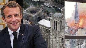 Notre-Dame se vrátí do původní podoby. A Macron už ví, jak bude vypadat vížka katedrály