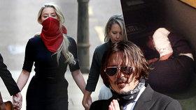 Johnny Depp čelil u soudu exmanželce: Lajny koksu, násilí a zdrogovaný herec na zemi!