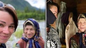 Influencerka navštívila nejosamělejší poustevnici (76): Nakazila ji koronavirem, bojí se úřady