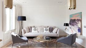 To je změna!  Z apartmánu s tradičními prvky vytvořili stylové útočiště na prázdniny