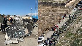 """Lidská chyba zabila 176 lidí. Letadlo v Íránu """"sundal"""" špatně seřízený radar"""