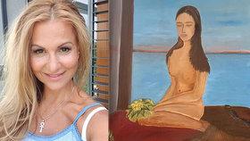 Yvetta Blanarovičová se dala na umění: Předvedla tajemnou nahotu!