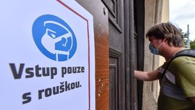Návrat roušek na Jihlavsku: Povinné jsou u lékaře, v obchodech i na kulturních akcích