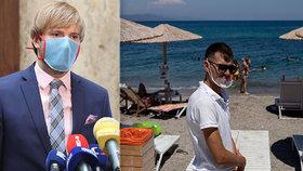 Čechům na dovolené hrozí nákaza od dalších turistů. Vojtěch: Pozor na plné kluby i bary