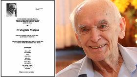 Hvězda »majora Zemana« Matyáš (†90): Rodina odtajnila parte! Zemřel tiše…