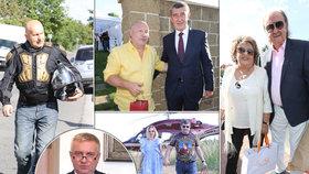 Slavní a vlivní na oslavě Michala Davida (60)! Kdo všechno na párty dorazil?