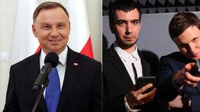 Dudu nachytali youtubeři, vydávali se za šéfa OSN. Prezidentovi vytkli i diskriminaci