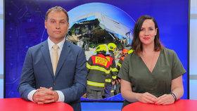 Vysílali jsme: Generální inspektor o tragické srážce vlaků. Proč umírají lidé na železnicích?