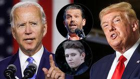 Trumpův syn se rozzuřil, jeho tátu válcuje Biden. A známý rapper skutečně podal přihlášku