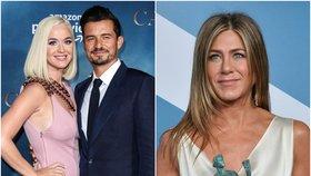 Katy Perry čeká dceru a za kmotru půjde Jennifer Aniston! Kteří slavní jsou ještě kmotry?