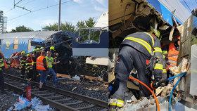 Očitý svědek Jiří promluvil o děsivé tragédii u Brodu: Pomáhal zraněným ze zdemolovaného vlaku!
