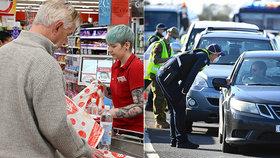 Obchoďáky jako útěk z karantény. Znudění Australané kupují cokoliv, jen aby nemuseli sedět doma