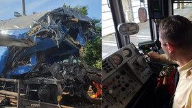 Zkušený strojvedoucí o nehodě v Českém Brodě: Někdy spíme jen pár hodin, abychom si vydělali