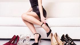 Dobře zvolené dámské boty podtrhnou váš celkový vzhled