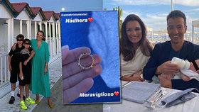 Zásnuby, nebo dárek? Šeredová se pochlubila skvostným prstenem za 32 tisíc!