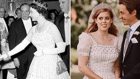 Nejlacinější svatba v historii královské rodiny: Beatrice vše zdědila, Kate utratila 10 milionů!