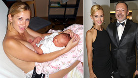 Rozzářená i po porodu! DJ Lucca odtajnila dosud neviděný snímek