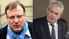 Kauza Zemanova rakovina: Bartík se musí prezidentovi omluvit a dát mu 250 tisíc korun